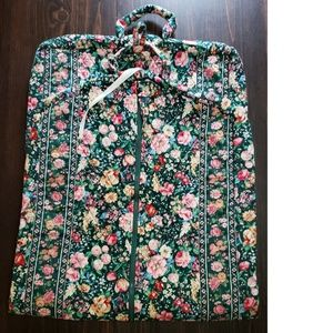 EUC RETIRED RARE Vera Bradley Floral Garment Bag